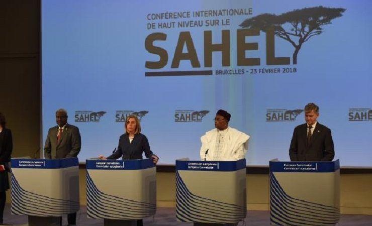 Konf.pras. po spotkaniu ws. pomocy dla Sahelu w Brukseli, źródło KE