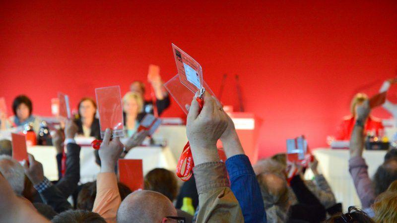 Konwencja SPD w landzie Szlezwik-Holsztyn. źródło Flickr