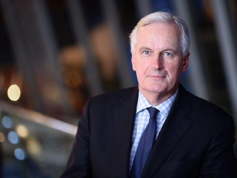Michel Barnier, źródło Wikipedia