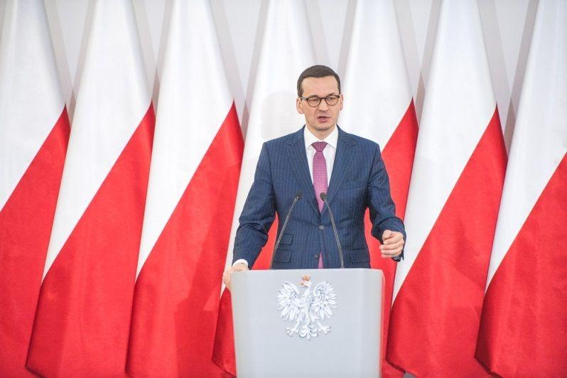 Premier Mateusz Morawiecki w Chełmie, źródło KPRM