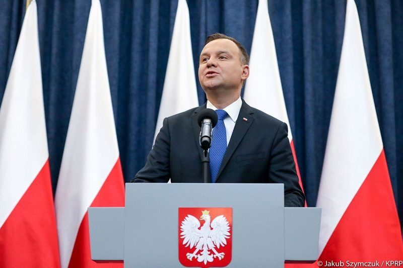 Prezydent Andrzej Duda, źródło Jakub Szymczuk KPRP