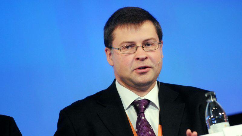 Valdis Dombrovskis, źródło Wikipedia