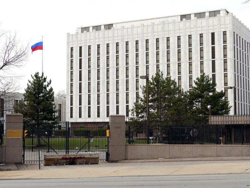 Ambasada Rosji w Waszyngtonie, źródło: Flickr/fot. Maxence