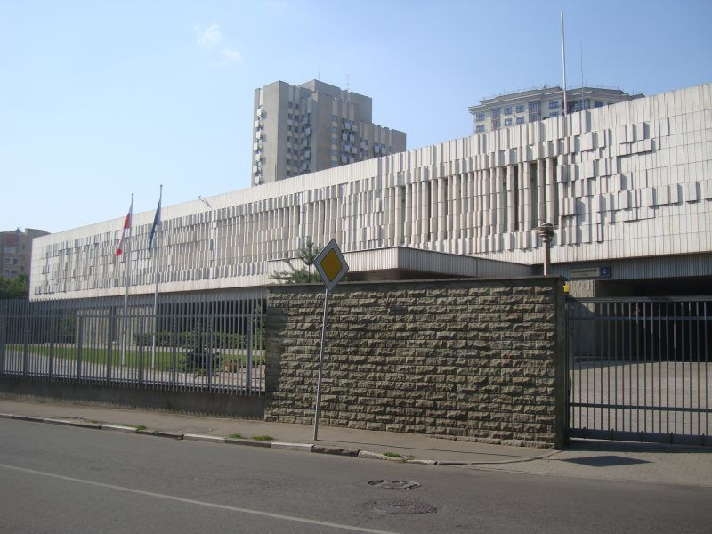 Budynek polskiej ambasady w Moskwie, fot. Сергей Сазанков (Sergey Sazankov)/Wikipedia/CC 2.5