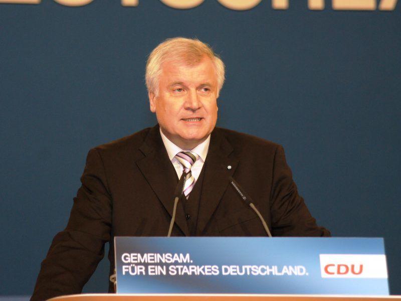Minister spraw wewnętrznych Niemiec Horst Seehofer, źródło: Flickr/fot. Michael Panse