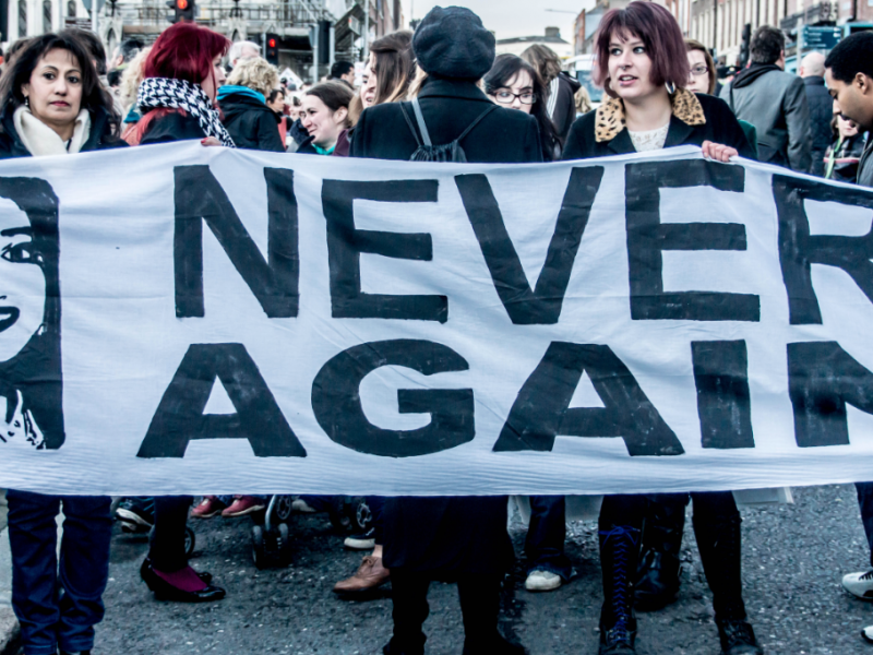 Manifestacja zwolenników liberalizacji prawa do aborcji po śmierci Savity Halappanavar, źródło: Wikipedia/fot. William Murphy from Dublin, Ireland (CC 2.0)