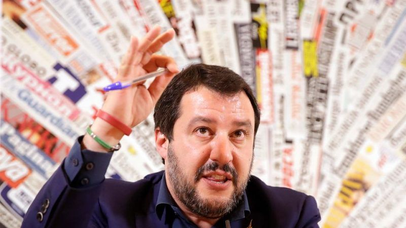 Matteo Salvini, lider Ligi