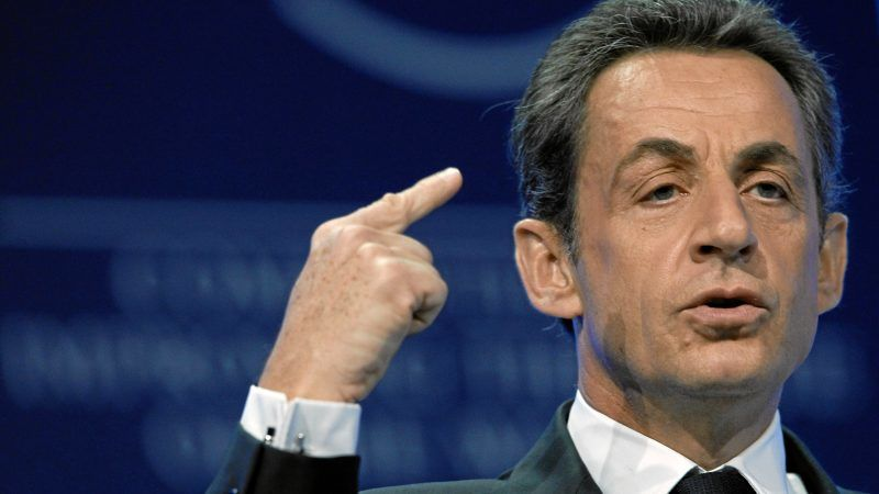 Nicolas Sarkozy, źródło: Flickr/World Economic Forum/ fot. Moritz Hager