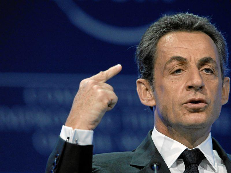 Nicolas Sarkozy, źródło: Flickr/World Economic Forum/ fot. Moritz Hager