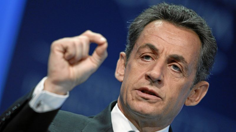 Nicolas Sarkozy, źródło Wikipedia/World Economic Forum/fot. Moritz Hager