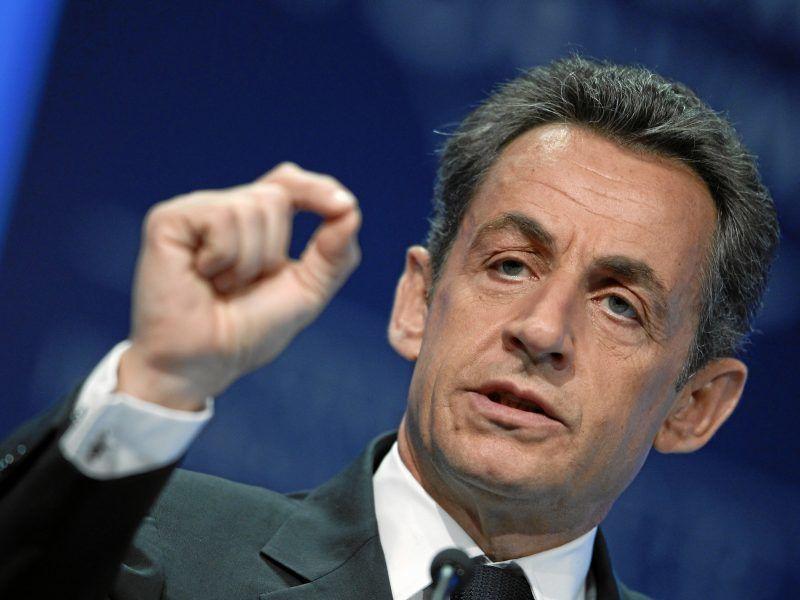 Nicolas Sarkozy, źródło Wikipedia/World Economic Forum/fot. Moritz Hager