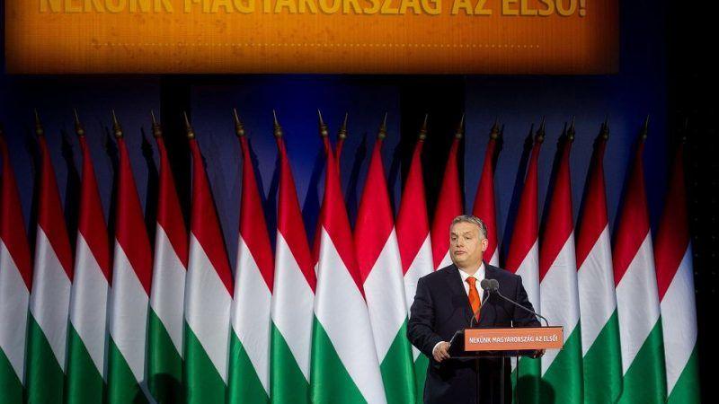 Premier Węgier Viktor Orbán, źródło Fot. Szilard Voros / Xinhua / East News / Xinhua / eyevine/EAST NEWS