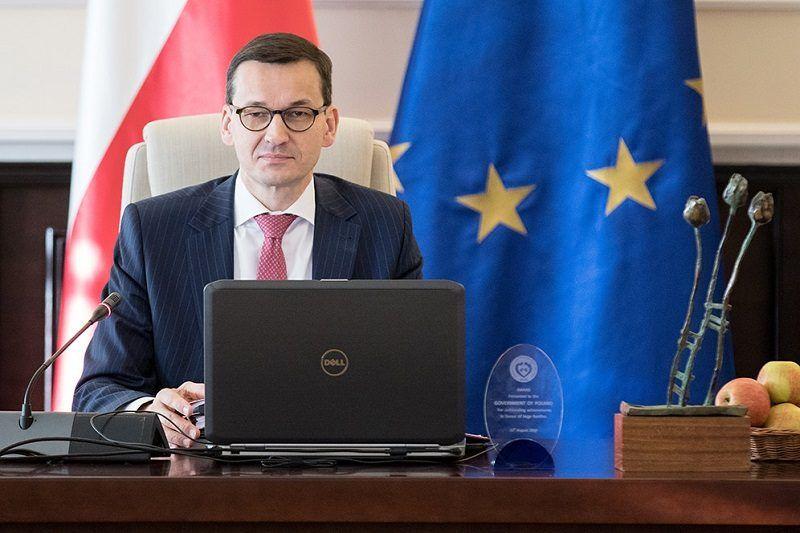 Premier Mateusz Morawiecki, źródło KPRM