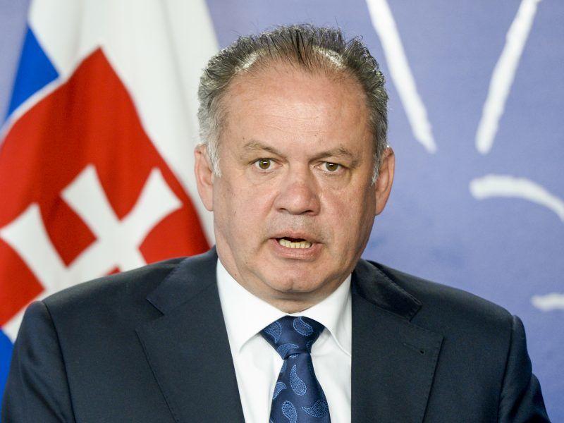 Prezydent Słowacji Andrej Kiska, źródło: Flickr
