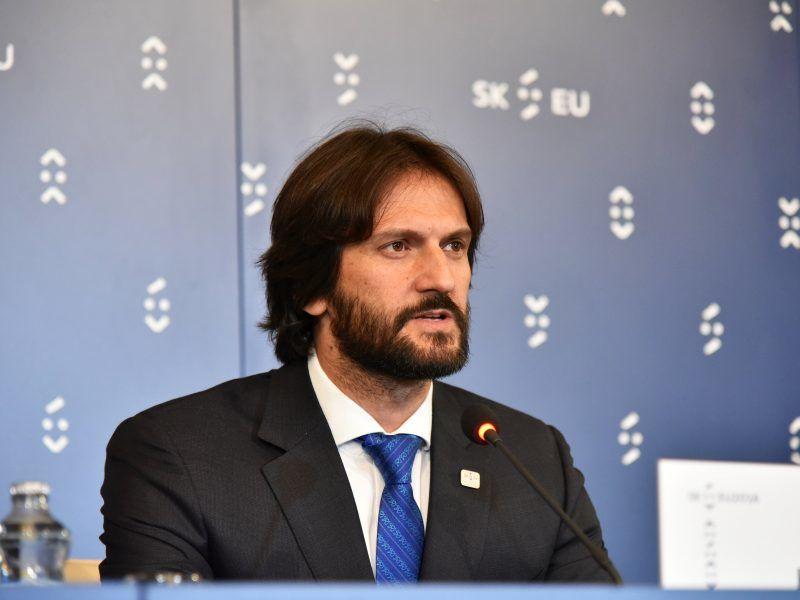 Robert Kaliňák, źródło:EU2016.SK