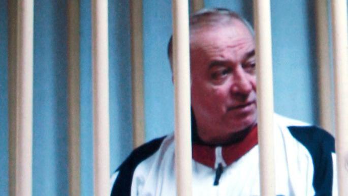 Siergiej Skripal na sali sądowej w Rosji, źródło Wikipedia