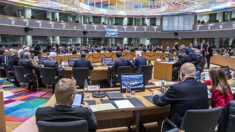 089e67736f629c Spotkanie unijnych ministrów spraw zagranicznych w Brukseli 19 marca 2018  r., źródło: European