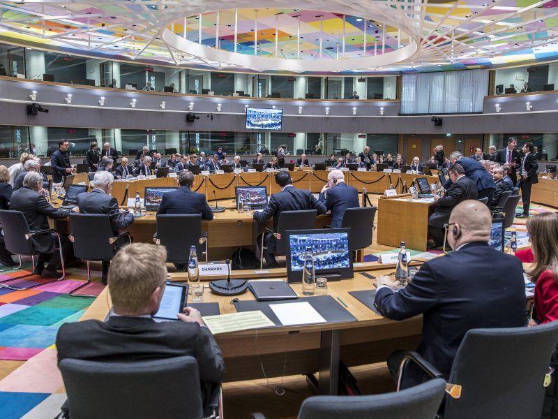 Spotkanie unijnych ministrów spraw zagranicznych w Brukseli 19 marca 2018 r., źródło: European Council