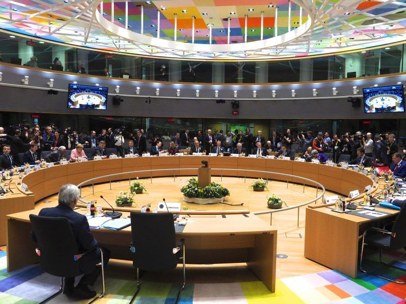 Szczyt UE w Brukseli 22-23 marca 2018, źródło European Council