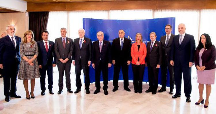 Uczestnicy szczytu UE-Bałkany Zachodnie w Sofii, źródło European Commission