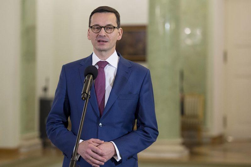 Premier Mateusz Morawiecki, źródło: KPRM