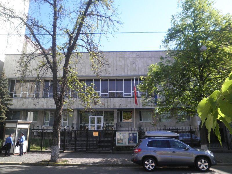 Ambasada Polski w Kijowie, źródło wikimedia by Kholodovsky