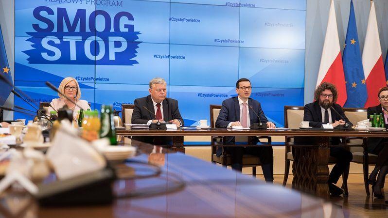 I posiedzenie rządowego komitetu ds. smogu, źródło KPRM