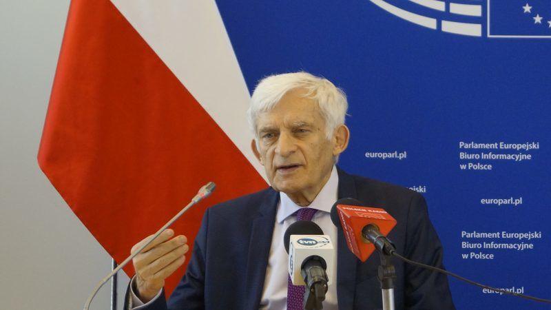 Jerzy Buzek, źródło: Biuro Informacyjne Parlamentu Europejskiego w Warszawie, fot. Marta Tomczak