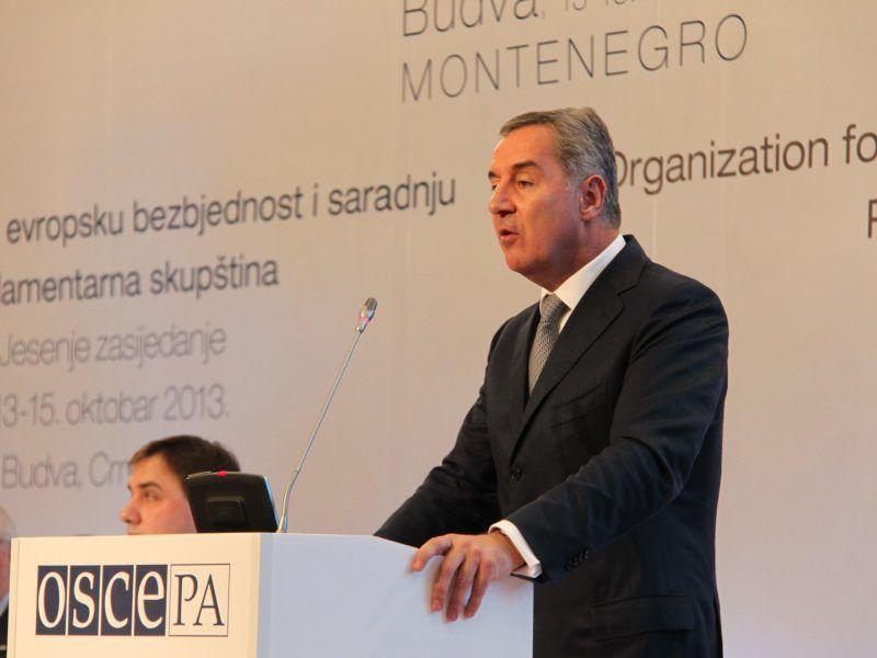 MiloĐukanović, źródło Flickr/OSCE Parliamentary Assembly