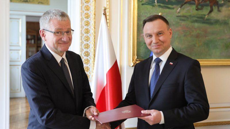 Prezydent Andrzej Duda powołuje ambasadora Bogusława Winida na swego doradcę, źródło Jakub Szymczak KPRP