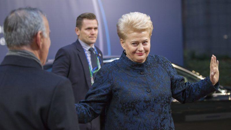 Prezydent Litwy Dalia Grybauskaite, źródło European Council