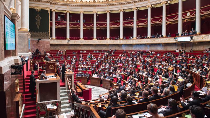 Sala plenarna Zgromadzenia Narodowego, źródło Flickr/United Nations Photo