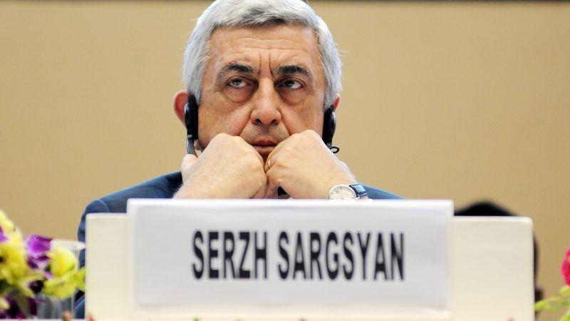 Serż Sarkisjan, źródło euractiv.com/EPA