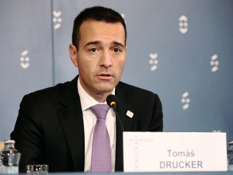 Tomáš Drucker, źródło: Wikipedia/EU2016.SK