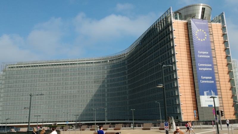 Siedziba Komisji Europejskiej w Brukseli, źródło: Wikipedia, fot. Drow male