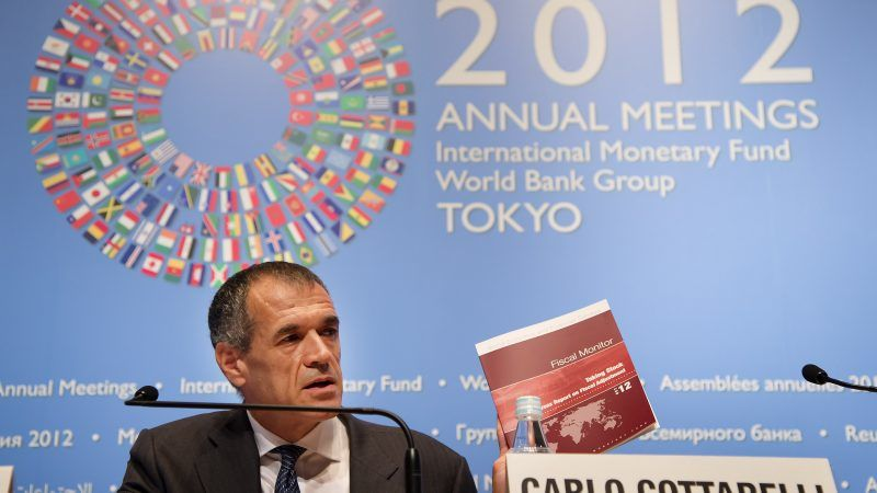 Carlo Cottarelli, źródło: Flickr/International Monetary Fund