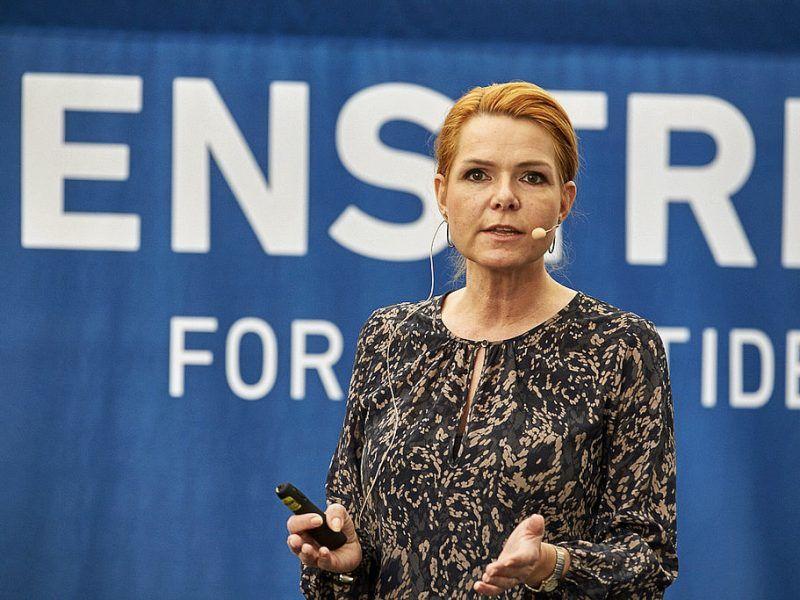 Inger Stojberg, źródło: Flickr/Venstre/fot. Henrik Bjerregrav