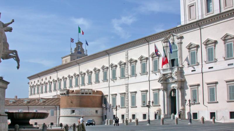 Pałac Kwirynalski w Rzymie, gdzie urzędują włoscy prezydenci, źródło: Wikipedia/MM