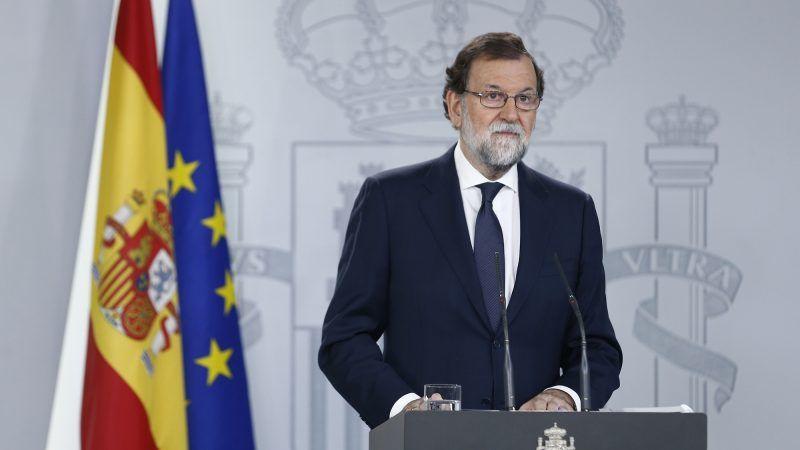 Premier Hiszpanii Mariano Rajoy, źródło: Flickr/La Moncloa - Gobierno de España