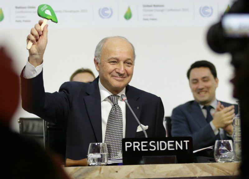 Przyjęcie Porozumienia Paryskiego w grudniu 2015 r