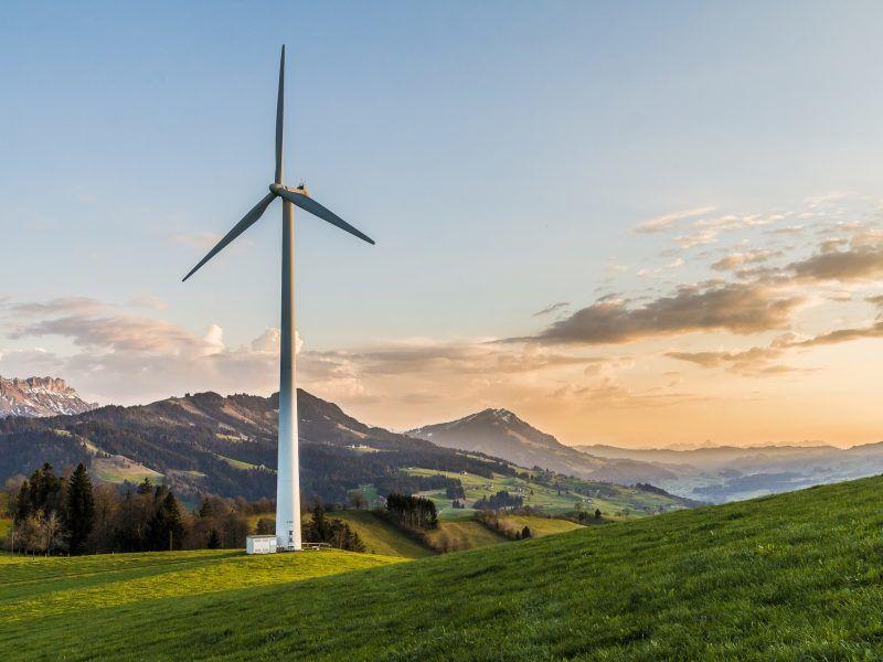 Energia wiatrowa, źródło: Pixabay