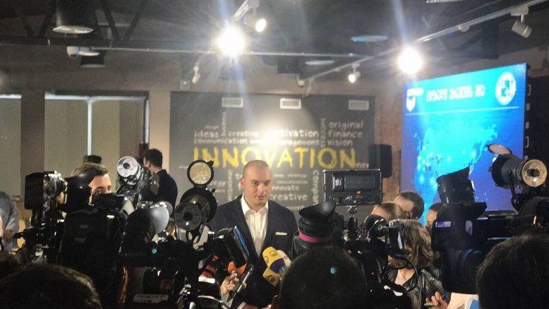 Kandydat na szefa gruzińskiego rządu Mamuka Bachtadze, źródło Twitter