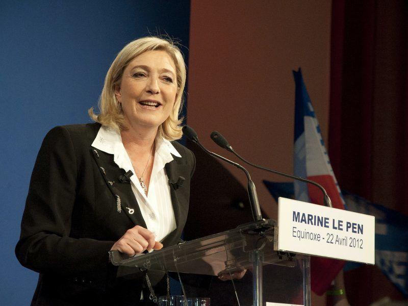 Marine Le Pen, źródło: Flickr, fot. Rémi Noyon