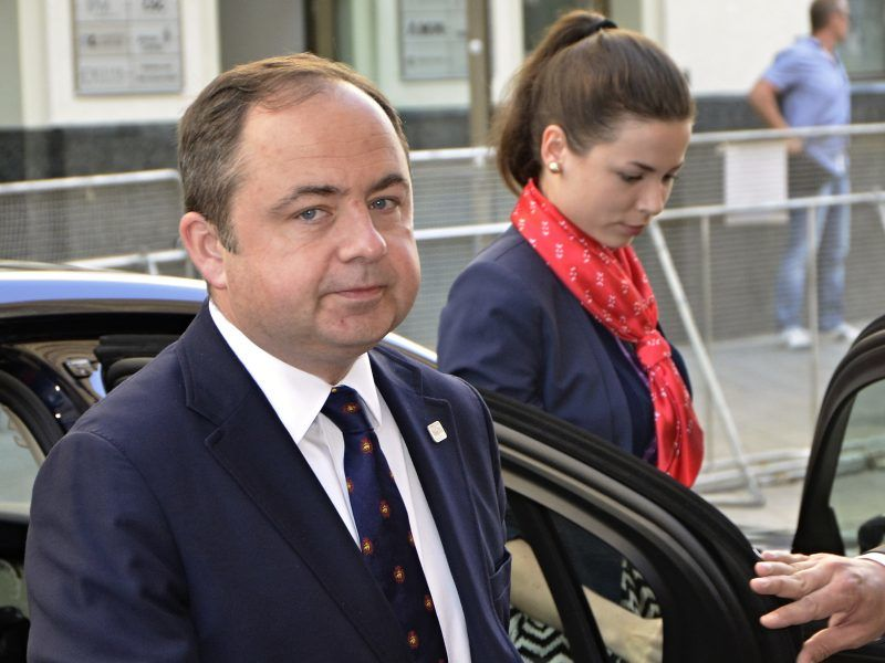 Minister ds. europejskich Konrad Szymański w Brukseli, źródło: EU2016.SK, fot. Rastislav Polak