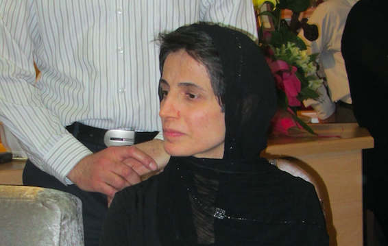 Nasrin Sotoudeh, źródło: Wikipedia, fot. Hosseinronaghi