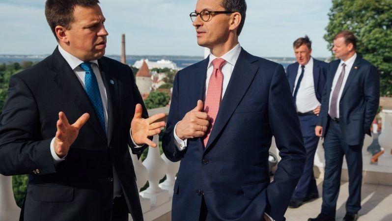 Premierzy Polski,Litwy, Łotwy i Estonii w Tallinie, źródło KPRP