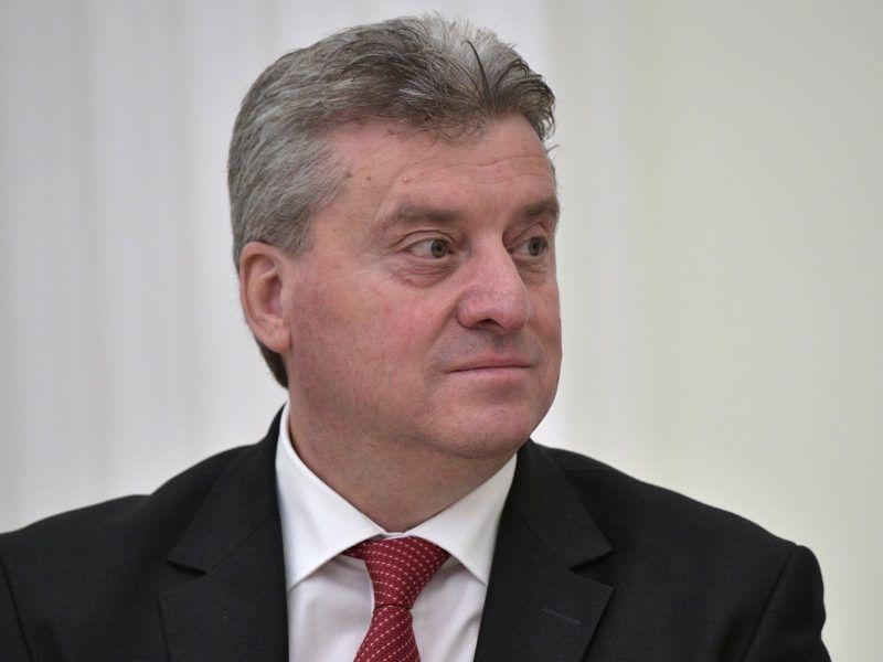 Prezydent Macedonii Gjorge Iwanow, źródło: Wikipedia/Пресс-служба Президента Российской Федерации