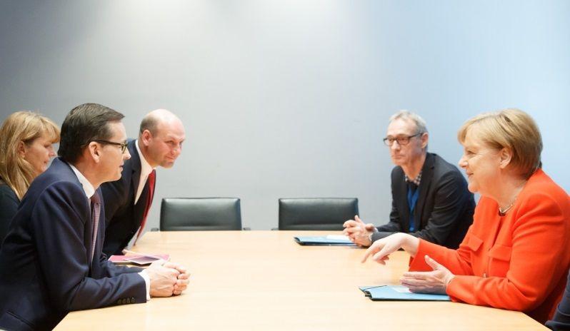 Spotkanie premiera Mateusza Morawieckiego i kanclerz Angeli Merkel w Berlinie, czerwiec`18, źródło KPRM