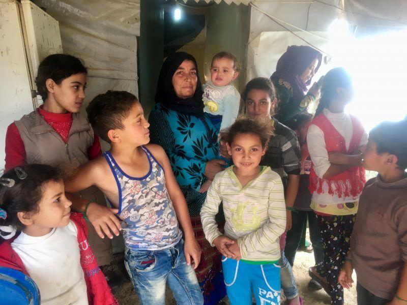 Syryjscy uchodźcy, fot. Karolina Zbytniewska