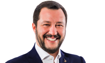 Wicepremier Włoch Matteo Salvini, źródło: Ministero dell'interno